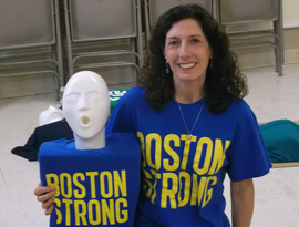 Boston CPR and AED training