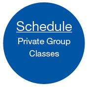 Schedule private group classes for CPR training AED training First Aid training